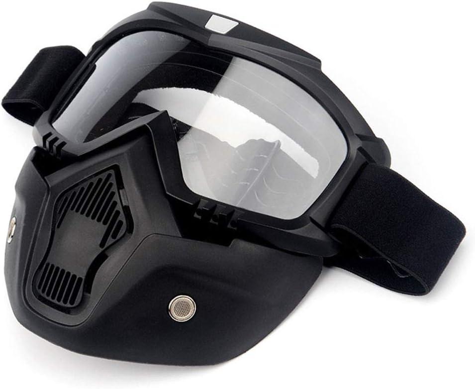 YGMDSL Caballero Equipo Máscara Gafas De Protección Fuera del Camino Motocicleta Coche De Carreras Gafas De Protección Casco