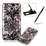 Clear TPU Case for Samsung Galaxy J510 2016,Soft Rubber Cover for Samsung Galaxy J510 2016,Herzzer Slim Elegant [Colorful Printed] Shock-Absorbing Silicone Gel Bumper Flexible Transparent Skin Case for Samsung Galaxy J510 2016