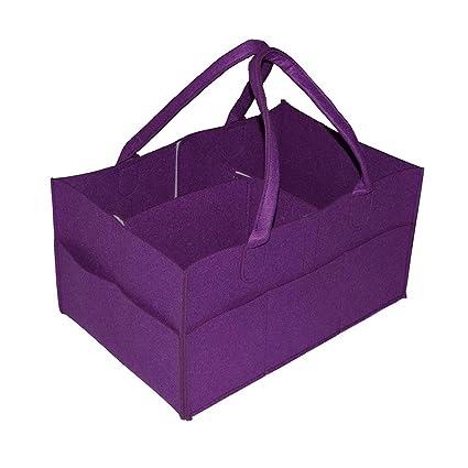 FOONEE Organizador de pañales portátil con Compartimentos Intercambiables, Ideal para pañales y toallitas de bebé