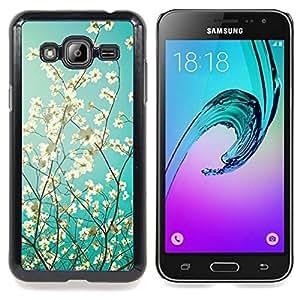 Stuss Case / Funda Carcasa protectora - Sol y sombra soleado verano - Samsung Galaxy J3 GSM-J300