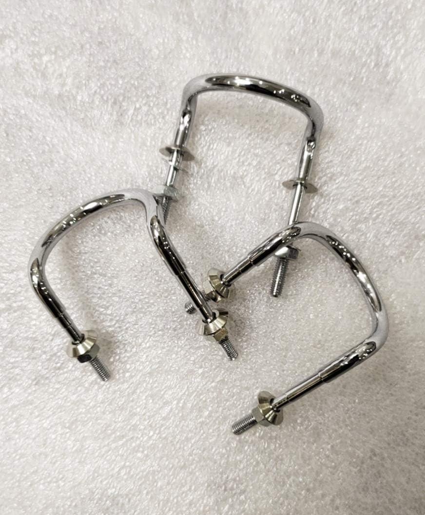 hebilla de cintur/ón Hebilla de hierro en ambas caras Las correas de hombro ajustables y resistentes al desgaste Acorde/ón correa de hombro de la correa de ciclo accesorios hebilla Color : Triangle