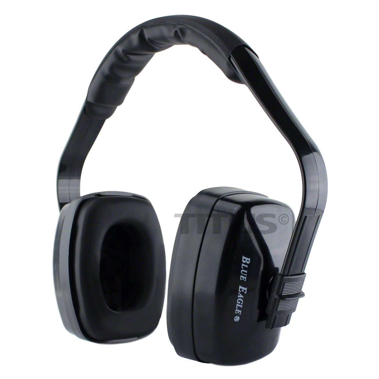 Titus XL Earmuffs - Blue Eagle 24 NRR Rated - Hearing Protection by Christensen Safety Equipment