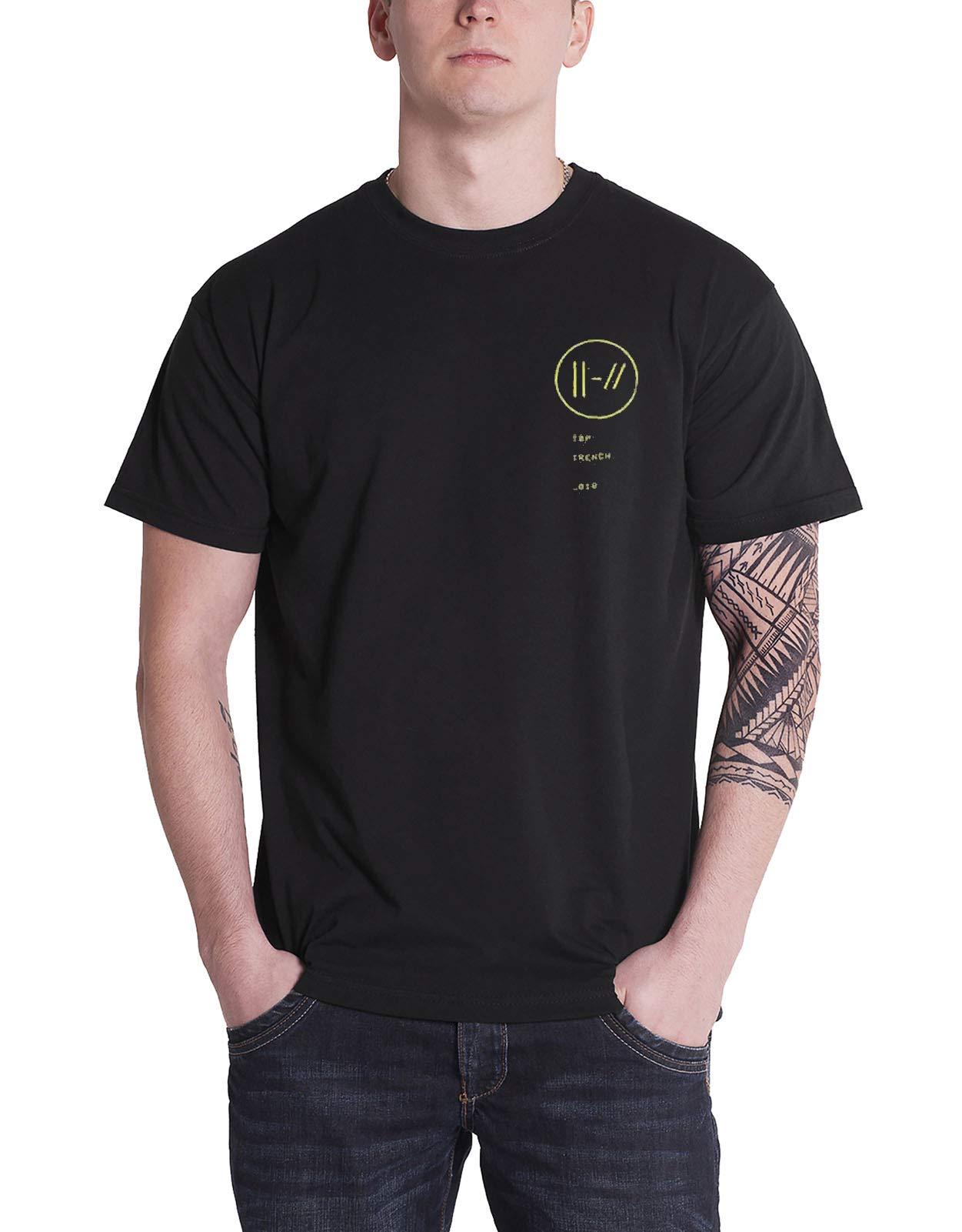 Twenty One Pilots T Shirt Trench Bandito Circle Band Logo S Black