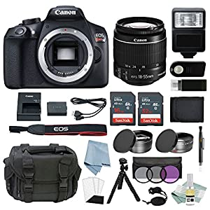 Canon EOS Rebel T6 Bundle + Best Canon Camera Accessory Kit - Including EVERYTHING You Need To Get Started