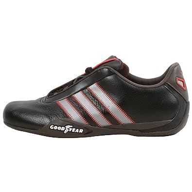 promo code 0197c f37a2 adidas Originals Mens Goodyear Race Sneaker,BlackIron Metallic,6.5 M