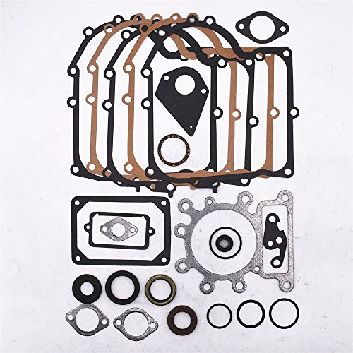 Partman Complete Engine Gasket Kit For Briggs and & Stratton 495993 Engine Overhaul Gasket Kit Set 287707 287777 (Complete Engine Overhaul Gasket)