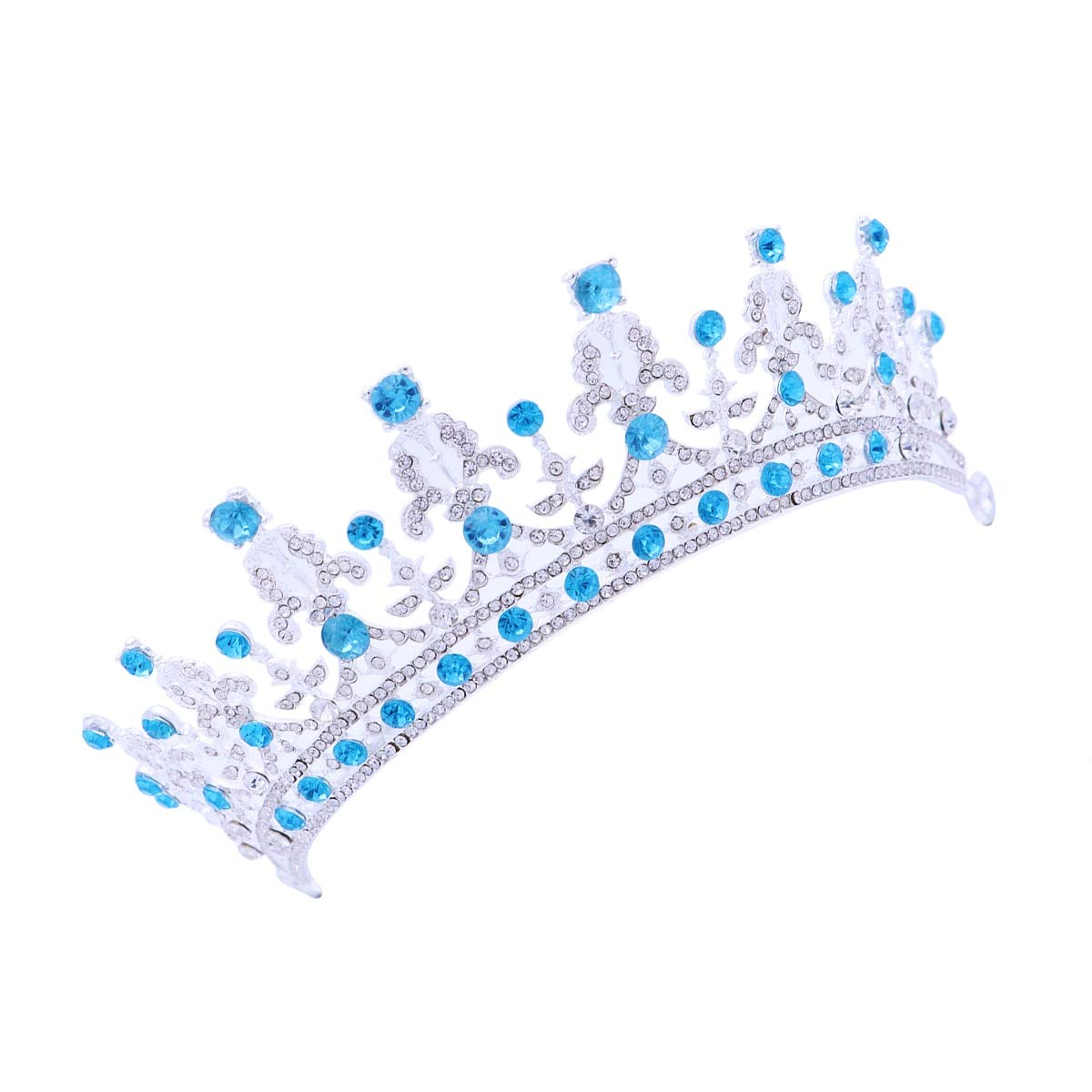 Baroque Royal Wedding Diamond Crown Tiara Diadem Bridal Headdress Women Girls Beauty Hair Accessories
