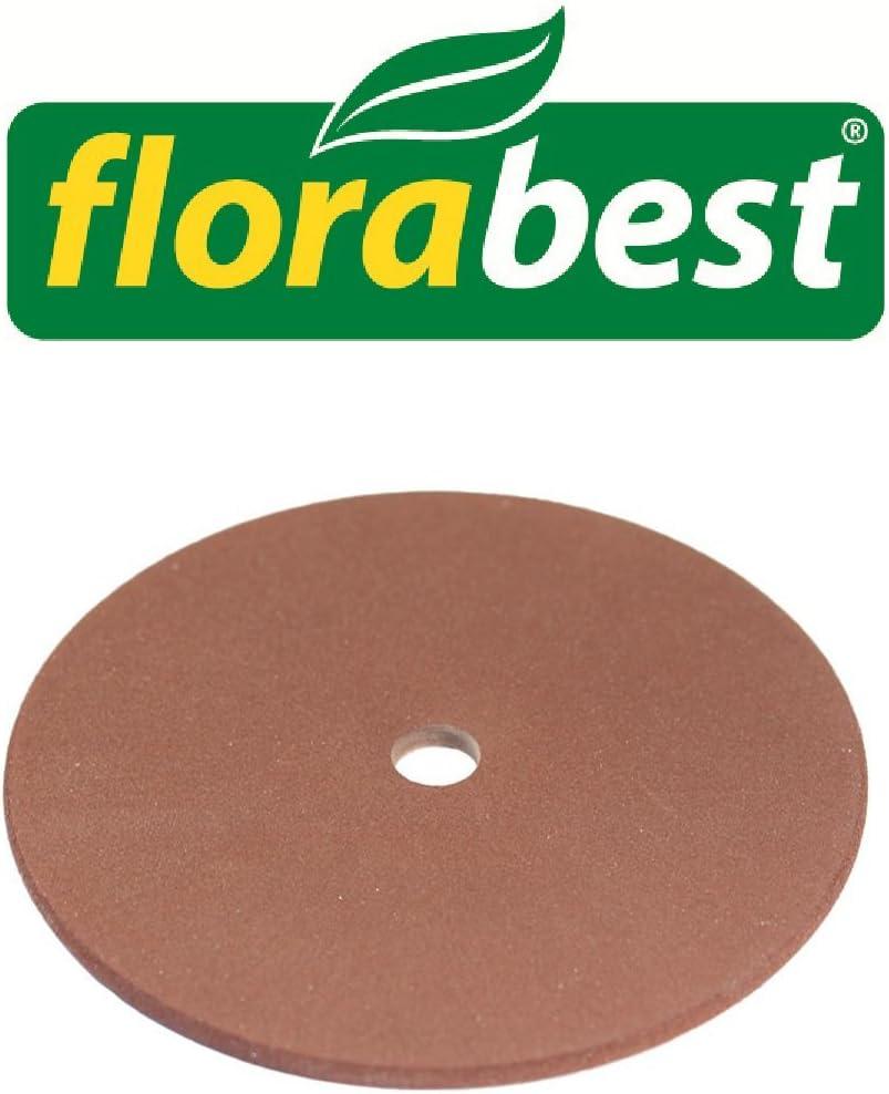 Flora Best lija 3,2mm para Flora Best–Afilador de cadenas de motosierra FSG 130Lidl Ian 33327–Repuesto Muela para afilador de cadenas