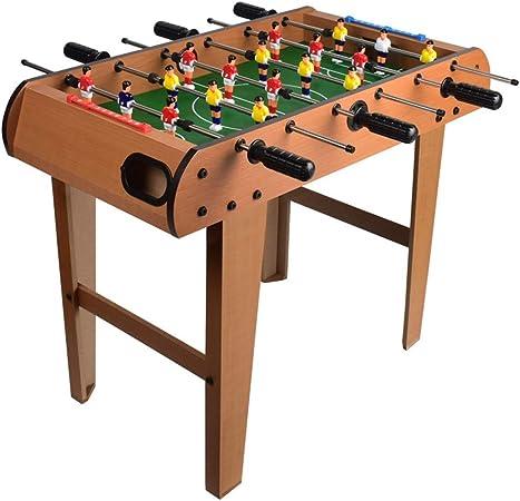 Futbolín Adultos y niños mesa de futbolín / Juego de fútbol de mano portátil de recreo de