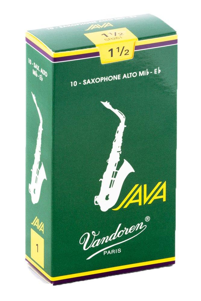Vandoren SR262 Box 10 Ance Java Verdi 2 Sax Alto
