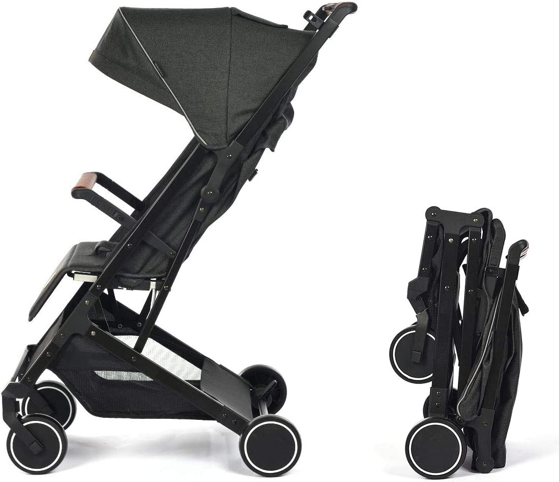 Silla de Paseo Star Ibaby Air Plus/Reclinable con barra de Seguridad - Mango corrido - Ultraligera 6 kg.