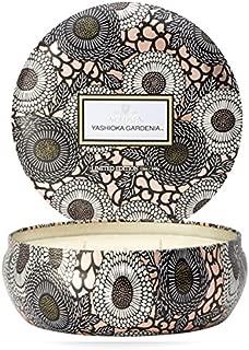 product image for Voluspa Yashioka Gardenia 3 Wick Tin Candle, 12 Ounces