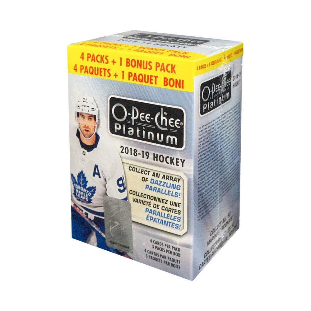 2018-19 Upper Deck O-Pee-Chee Platinum Hockey 5ct Blaster Box