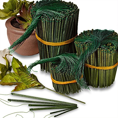 2 Inch Greening Pins - Floral Fern Pins for Straw Wreaths Holiday Arrangements 600 Pieces Craft Projects Bulk Buy Quantities Available for Wholesale Prices.
