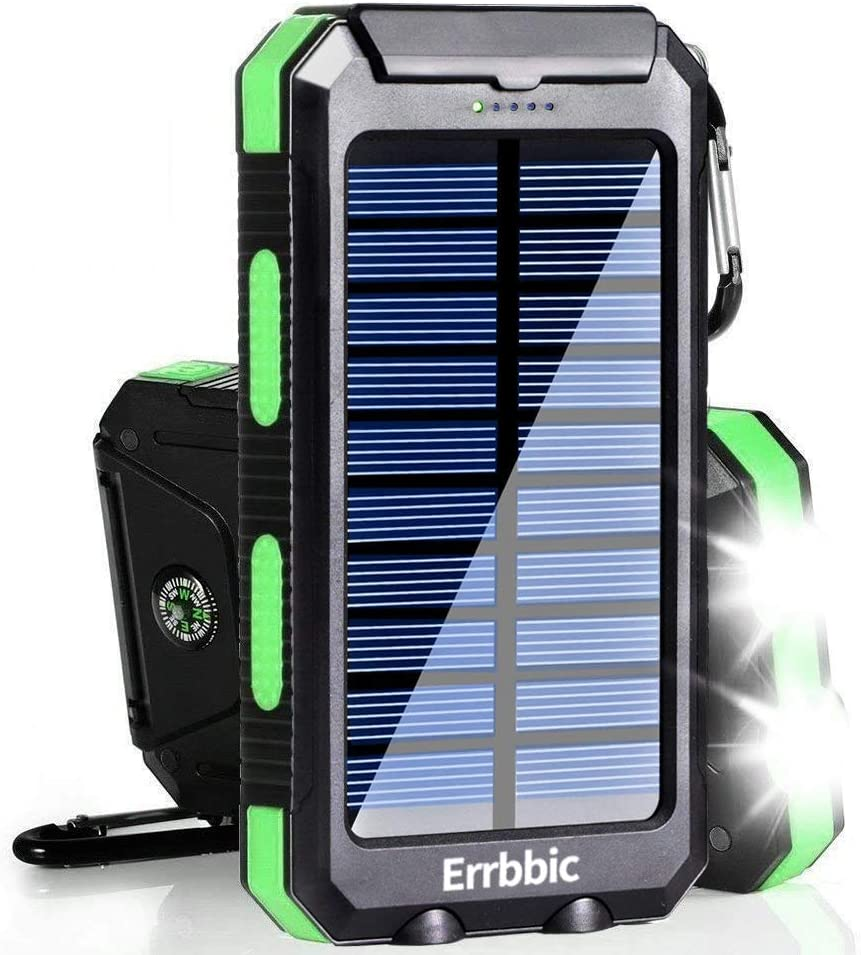 Waterproof Solar Charger in Survival Kit