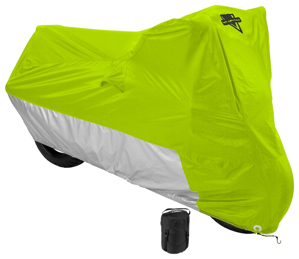 Nelson-Rigg (MC-905-03-LG) Hi-Visibility Yellow Large Deluxe All-Season Cover