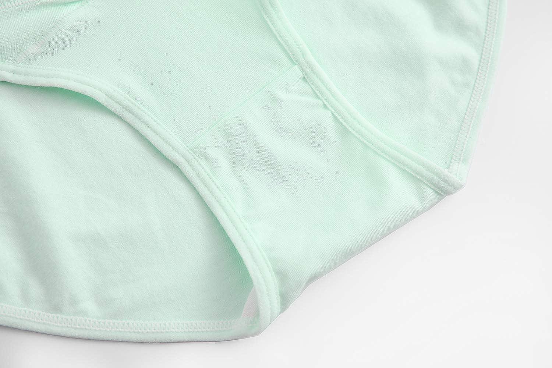 Suekaphin Womens Maternity Panties Maternity Underwear Pregnancy Postpartum Cotton Under Bump Brief L Multicolored