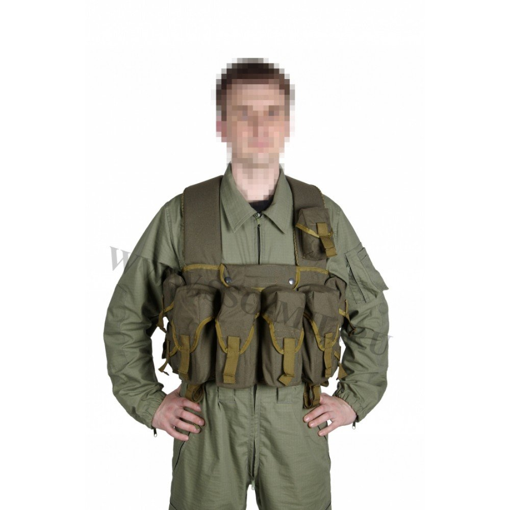 Russian Military Lazutchik M Bags for breast (Military Vest) by SSO/SPOSN