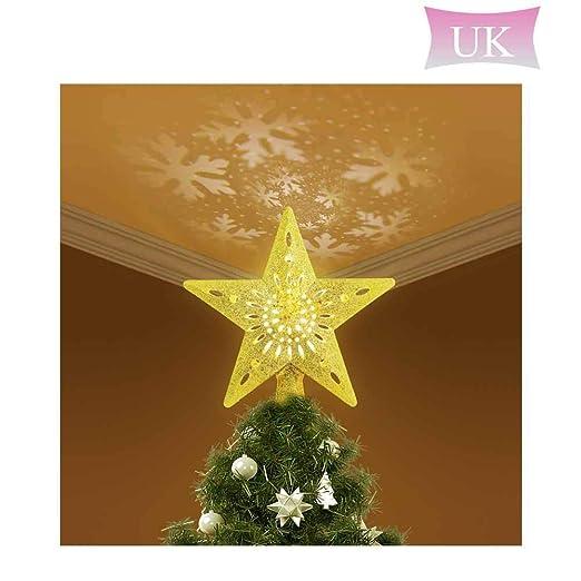 DokFin Decoración para árbol de Navidad Luces de 9.8 Pulgadas con ...
