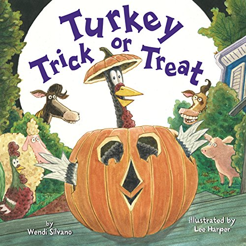 Turkey Trick or Treat (Turkey Trouble Book 3)]()