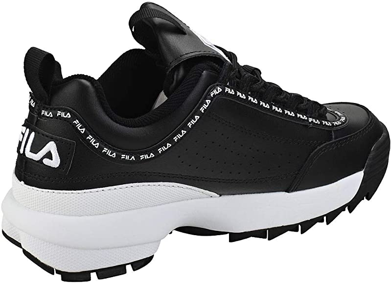 Fila Disruptor 2 Premium Repeat Mujeres Zapatillas Moda Black ...