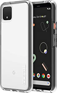 Incipio DualPro Case for Google Pixel 4 XL - Google Certified Protective Cover (Clear) [Extremely Rugged I Shock Absorbing I Hybrid] - GG-082-CLR