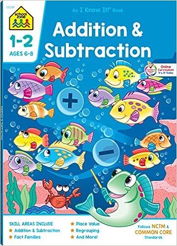 Workbooks-Addition and Subtraction Grades 1-2: Barbara Bando, Ph.D ...