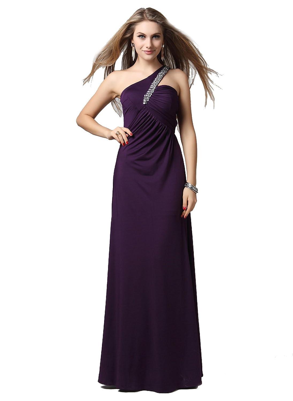Stunning Sexy Beaded Backless Long Evening Dress - EDG121085