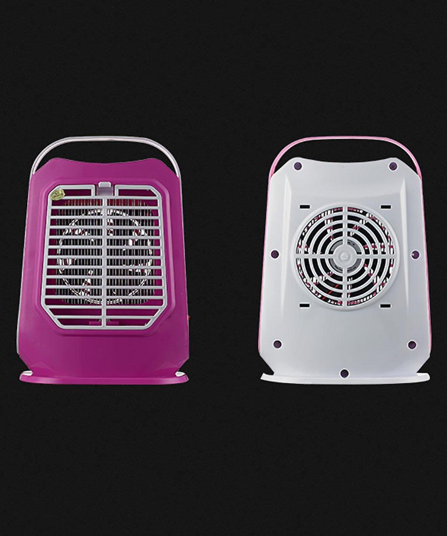 PENGFEI Control de insectos Lámpara Anti-mosquito Lámpara Anti Mosquito Para Para Para Hogares Lámpara Anti Mosquito Electrónico Anti-radiación Mute, Rosa Para Interior, Dormitorio Habitación Hotel Company ( Color : Rosa ) 066a0d
