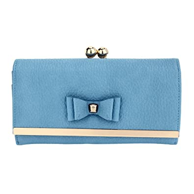 7bf989f29 ANNA GRACE Women Purses Designer Coin Wallet For Girls Coin Purses (A -  Blue)