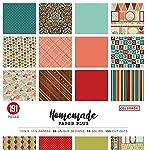 Colorbok 68276b Paper Plus Pad de lino fresco, 30,5x 30,5cm, portadas pueden variar