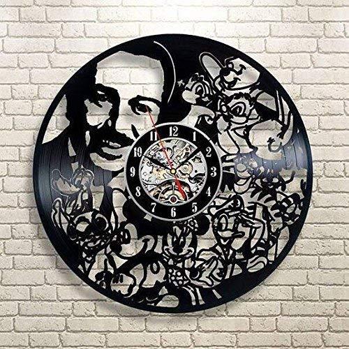 Walt Disney Vinyl Record Wall Clock - Get