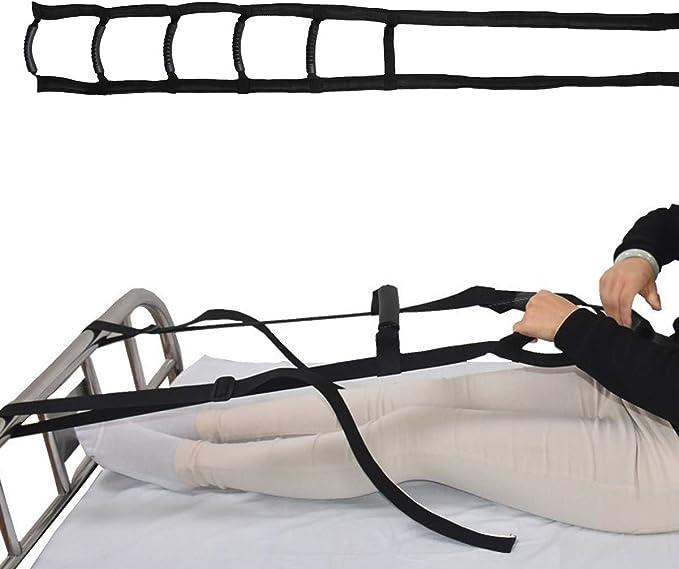 Artibetter La cama se sienta escalera de la ayuda cama levante la correa del soporte de la cama para personas mayores de edad avanzada embarazadas: Amazon.es: Salud y cuidado personal