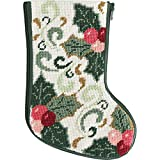 Stitch & Zip Della Robbia Mini Stocking Needlepoint Kit