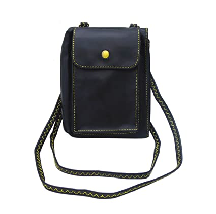 04b8d012dbbf Image Unavailable. Image not available for. Color  Toniker Fashion Small  Leather Crossbody Bag ...
