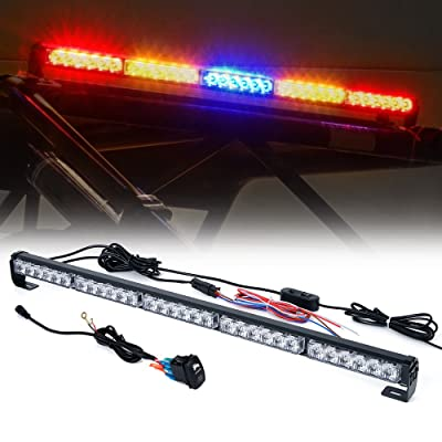 "Xprite 30"" Offroad Rear LED Chase Strobe Light bar w/Running Turn Signal Brake Reverse Light for UTV, ATV, Polaris RZR XP 1000, Side by Sides, 4x4, Trophy Truck Offroad Vehicle - RYBYR: Automotive"