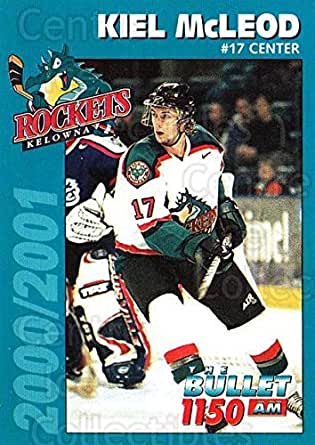 Amazon.com: (CI) Kiel McLeod Hockey Card 2000-01 Kelowna