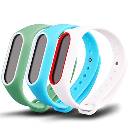 Awinner Colorful Waterproof Bands for Xiaomi Mi Band 2: Amazon in