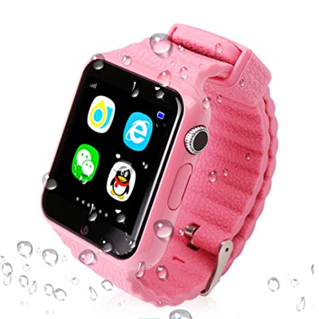 Amazon.com: AXDNH Kids Smart Watch Phone, 5 Positioning ...