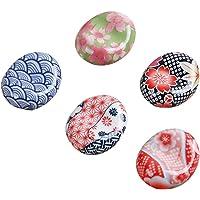 BESTONZON Palillos de cerámica Resto de estilo japonés