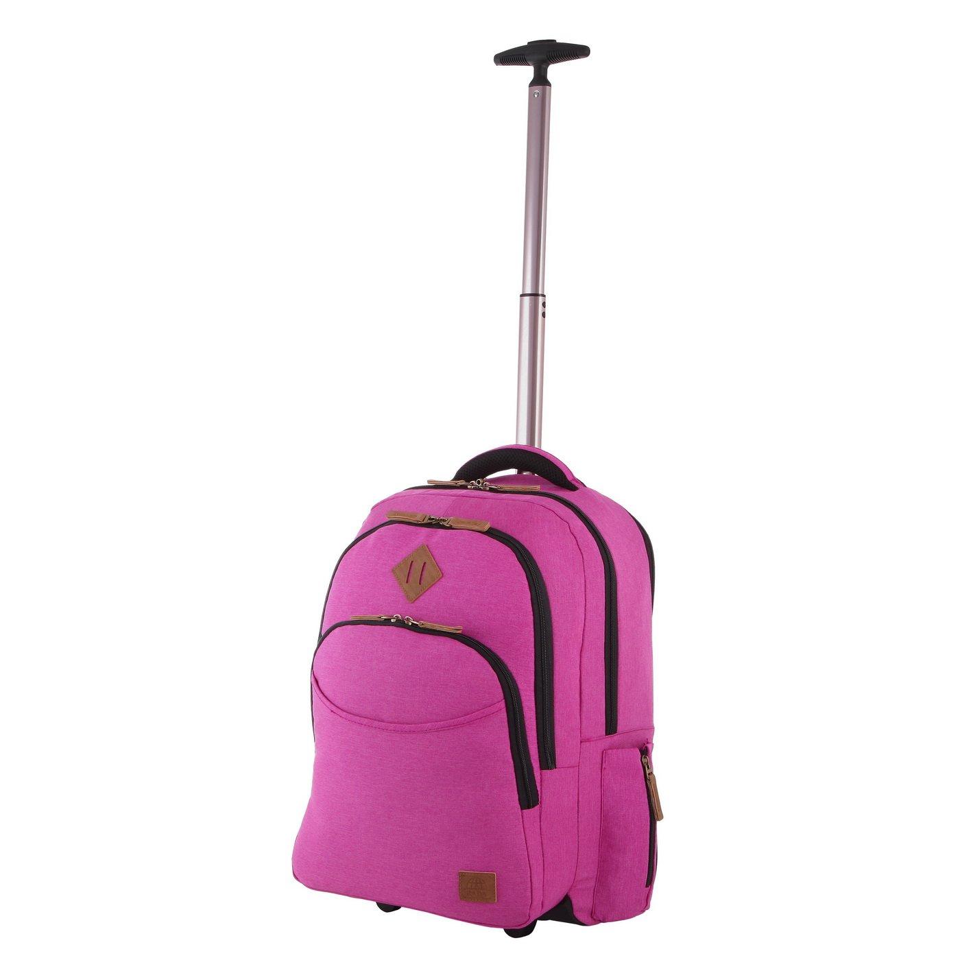 Rada Schultrolley für Mädchen Pink