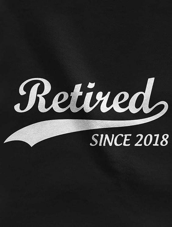 Amazon.com  TeeStars - Retired Since 2018 - Retirement Gift Idea Football  Jersey T-Shirt  Clothing 481588668