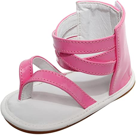 Infant Baby Girls Shoes for Kids Children Beach Leather Rubber Sole Summer First Wallker Shoes