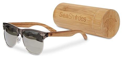 c2af6174eca1 Amazon.com  SeaShades - Bamboo Sunglasses - Classy