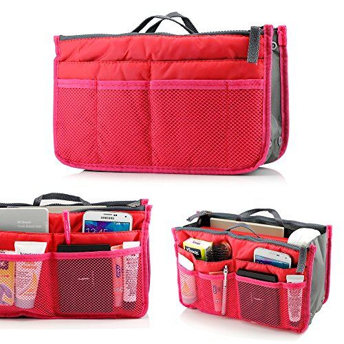 GEARONIC TM Lady Women Travel Insert Organizer Compartment Bag Handbag Purse Large Liner Tidy Bag - Hot ()