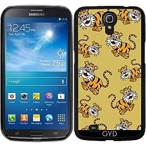 Funda para Samsung Galaxy Mega 6.3 GT-I9205 - Un Tigre Sonriente by zorg