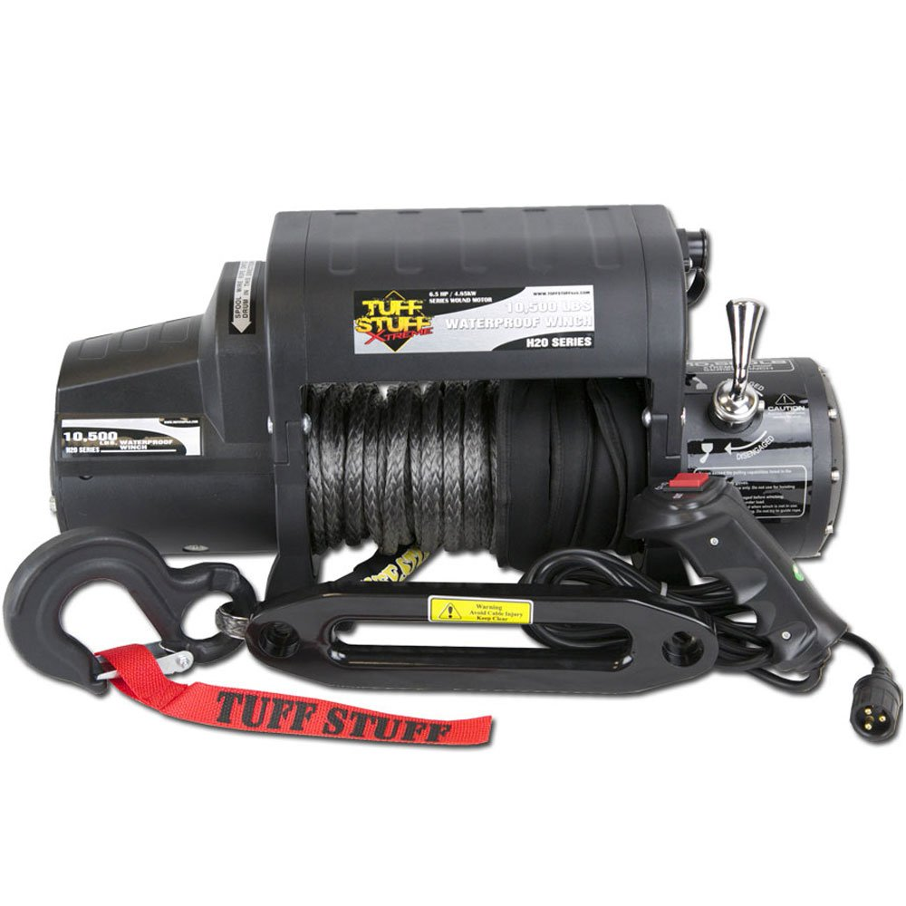 Tuff Stuff Winch Control Box Wiring Diagram Xtreme Series With Synthetic Rope Wireless Remote Automotive 1000x1000