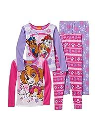 Toddler Girl Paw Patrol Chase, Marshall & Skye 4-pc. Pajama Set