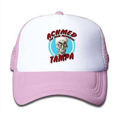 Achmed The Dead Terrorist Tampa Child Baby Kid Mesh Caps Adjustable Trucker  Hats Summer Baseball Caps 05dcfc698c1f