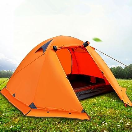 Tienda De Campaña Al Aire Libre 3-4 Espesar Doble 2 Camping ...